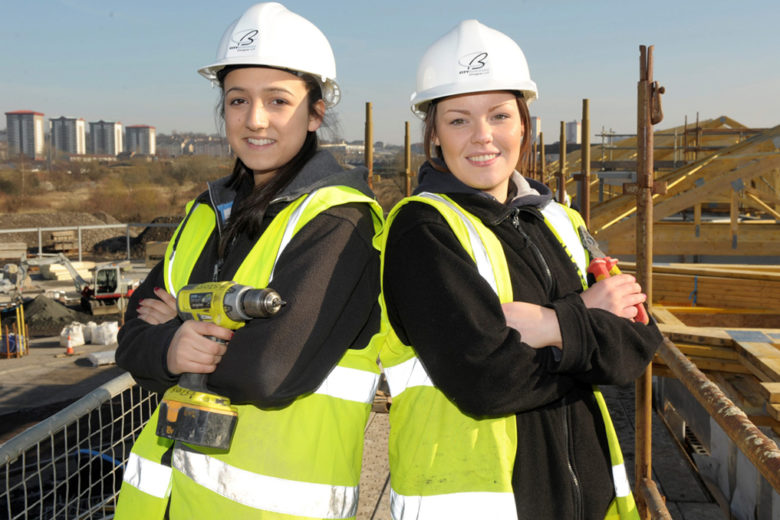 Females in construction