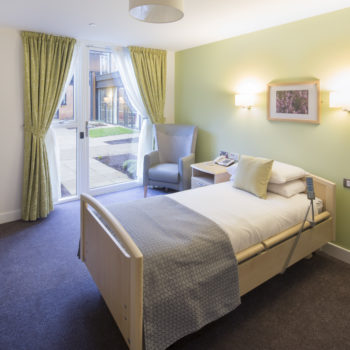 Legacy Riverside Care Home Bedroom